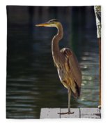 A Leg To Stand On Fleece Blanket