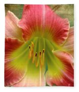 A Lily A Day Fleece Blanket