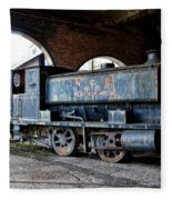 A Locomotive At The Colliery Fleece Blanket