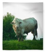 A Lot Of Bull Fleece Blanket
