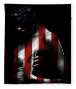 A Love Called Liberty Fleece Blanket