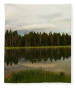 A Lovely Reflection Fleece Blanket