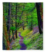 A Magical Path To Enlightenment Fleece Blanket