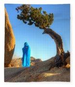 A Matter Of Time 1 Fleece Blanket