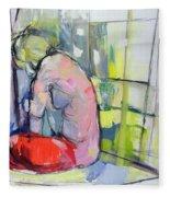 A Meditation Fleece Blanket