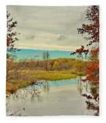 A Michigan Moment Fleece Blanket