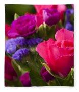 A Mixed Bouquet Fleece Blanket