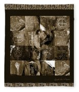 A Moment In Time Fleece Blanket
