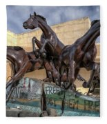 A Monument To Freedom Fleece Blanket