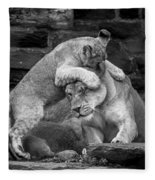 A Mother's Patience Fleece Blanket