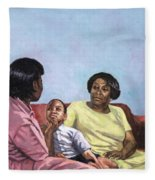 A Mothers Strength Fleece Blanket