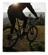 A Mountain Biker Makes His Final Fleece Blanket