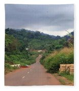 A Nice Nigerian Road Fleece Blanket