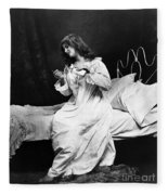 A Night Cap, 1901 Fleece Blanket