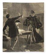 A Parisien Drama, Illustration From Le Fleece Blanket