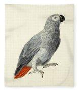 A Parrot Fleece Blanket