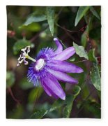 A Passion For Flowers Db Fleece Blanket
