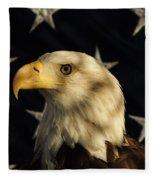 A Patriot Fleece Blanket