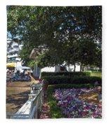A Perfect Day On The Boardwalk Walt Disney World Fleece Blanket
