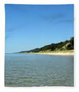 A Perfect Day On The Water Fleece Blanket