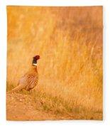 A Pheasant  Fleece Blanket