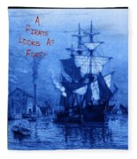 A Pirate Looks At Forty Fleece Blanket