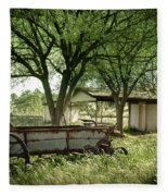A Place In The Shade Fleece Blanket