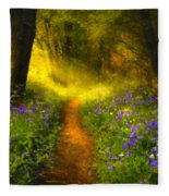 A Place In The Sun - Impressionism Fleece Blanket