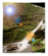 A Place To Day Dream  Fleece Blanket