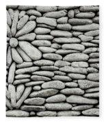 A Plant In The Wall Fleece Blanket