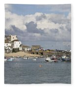 A Postcard From St Ives Fleece Blanket