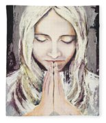 A Prayer... Fleece Blanket