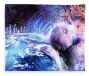 A Prayer For The Earth Fleece Blanket