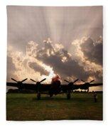 A Quiet Prayer Fleece Blanket