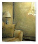 A Quiet Room Fleece Blanket