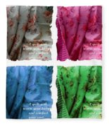 A Quilt Will Warm Your Body And Comfort Your Soul Fleece Blanket