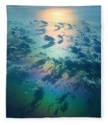 A Rainless Rainbow Fleece Blanket