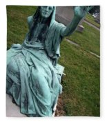 A Raised Hand -- Thomas Trueman Gaff Memorial -- 2 Fleece Blanket