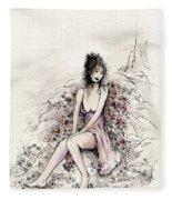 A Romantic Moment Fleece Blanket
