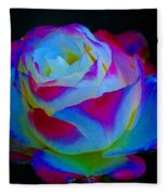 A Rose Enhanced Fleece Blanket