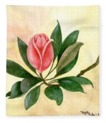 A Rose Is A Rose Fleece Blanket