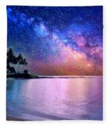 A Sea Of Stars At Poipu Fleece Blanket