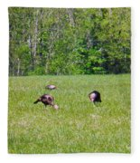 A Shot Of Wild Turkey Fleece Blanket