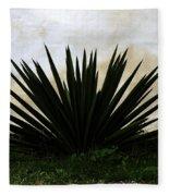 A Simple Yucca Fleece Blanket