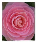 A Soft Blush Fleece Blanket