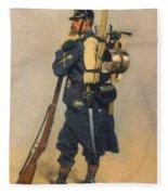 A Soldier IInfanterie Fleece Blanket