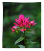 A Sole Wildflower Fleece Blanket