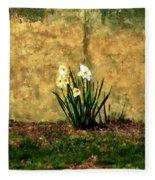A Spot Of Spring Fleece Blanket