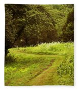 A Summer's Trail Fleece Blanket