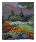 A Sunny Afternoon In Santa Barbara Fleece Blanket
